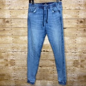 Like New Hollister Skinny Jogger Jeans Size Small